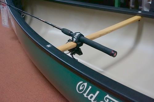 Attaches By Velcro Loop To A Yoke Seat Crossbar Thwart Or Handle In Canoe Holds Many Items Secure Such As Your Fishing Rod Paddle