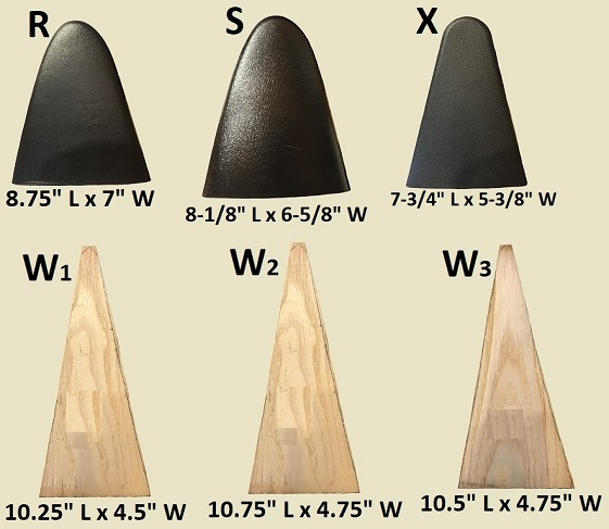 Seats and Seat Pads for canoes and Kayaks yoke thwart