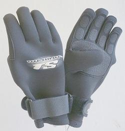 Deep See Titanium Thermocline 6.5mm Neoprene Scuba Gloves Size M