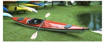 Eddyline Merlin....a beautiful paddling boat!