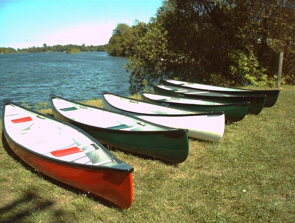 Oak Orchard Canoes - fine craftsmanship, good performance