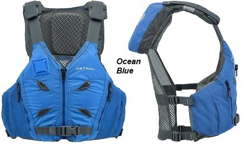 """L//XL45-51/"""" chest BLUE Astral Designs RONNY Ergonomic Life Vest PFD w//Thin Vent"""