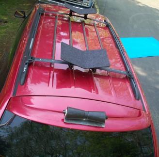 Kayak Roof Rack For Cars >> Gullwing Kayak Carrier - Gull Wing Kayak Saddles ...