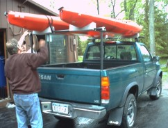 Kayak Racks For Pickup Trucks >> Oak Orchard Canoe Kayak Experts Pick Up Truck Rear Racks Rack Kayaks