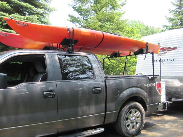 Image Gallery Kayak Racks For Trucks
