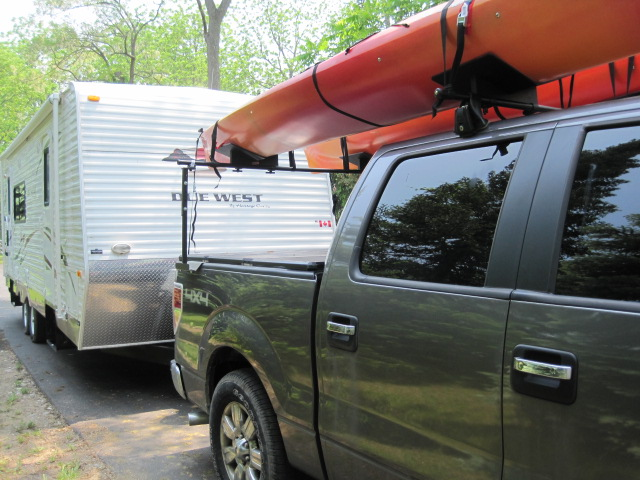 Oak Orchard Style 2 Pick Up Truck Rack Canoe Kayak Canoes