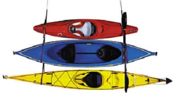 Ordinaire Yak Rak Kayak Storage Perfect For Storing 1, 2 Or 3 Kayaks Or Paddle Boards  Up And Out Of The Way. Heavy Duty Webbing With Hanger Hooks And Quick  Release ...