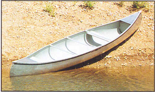 Michi-Craft Canoe by Meyers Michicraft aluminum canoe for sale