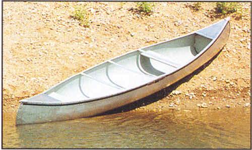 Michi-Craft Canoe by Meyers Michicraft aluminum canoe for