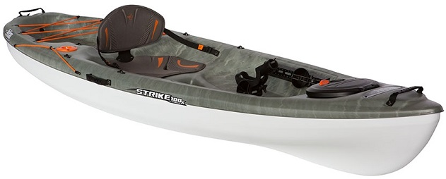 The Strike 100x Angler Is An All New Pelican Premium Sit On Top Fishing Kayak Featuring A Wide And Stable Platform Check Out Newly Developed ErgoFlex