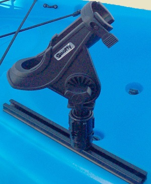 how to make a rod holder